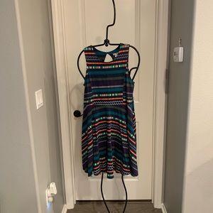 Multi colored maxi dress by Xhilaration